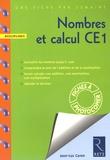 Jean-Luc Caron - Nombres et calcul CE1.