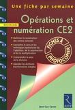 Jean-Luc Caron - Opérations et numération CE2.