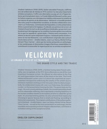 Velickovic. Le grand style et le tragique