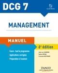 Jean-Luc Charron et Sabine Sépari - DCG 7 - Management - Manuel - 6e éd..