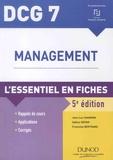 Jean-Luc Charron et Sabine Sépari - Management DCG 7 - L'essentiel en fiches.