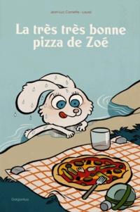 Jean-Luc Cornette et  Laurel - La trés trés bonne pizza de Zoé.
