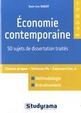 Jean-Luc Dagut - Economie contemporaine - 50 sujets de dissertation traités.