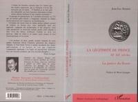 Jean-Luc Desnier - La légitimité du Prince IIIe-XIIe siècles - La justice du fleuve.