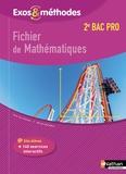 Jean-Luc Dianoux et Muriel Dorembus - Fichier de mathématiques 2de Bac pro.