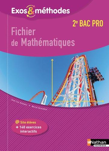 Fichier de math matiques 2de bac pro de jean luc dianoux - Fiche bilan de competences bac pro cuisine ...