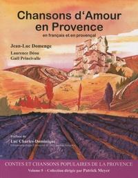 Jean-Luc Domenge et Laurence Déou - Chansons d'Amour en Provence. 1 Cédérom