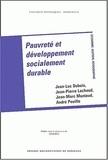 Jean-Luc Dubois et Jean-Pierre Lachaud - Pauvreté et développement socialement durable.