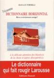 Jean-Luc Fornelli - Nouveau dictionnaire horizontal - Revu et sévèrement corrigé !.