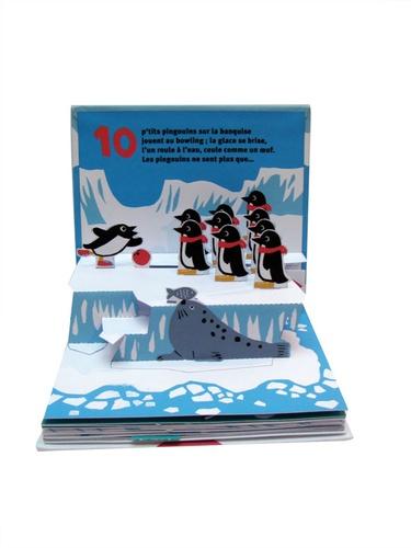 10 p'tits pingouins. Un livre animé pour jouer à compter