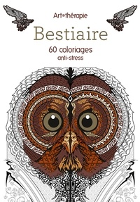 Jean-Luc Guérin - Bestiaire - 60 coloriages anti-stress.