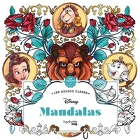 Jean-Luc Guérin - Disney Mandalas - 45 coloriages anti-stress.