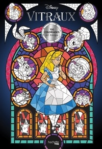 Jean-Luc Guérin - Disney vitraux - 100 coloriages art-thérapie.
