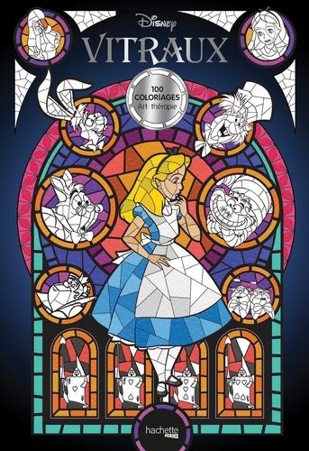 Disney vitraux. 100 coloriages art-thérapie