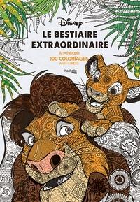 Jean-Luc Guérin - Le bestiaire extraordinaire - Art thérapie, 100 coloriages anti-stress.
