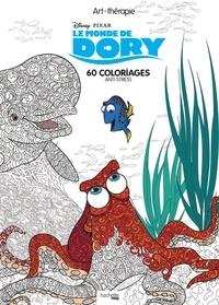 Coloriage Anti Stress Nature Et Decouverte.Le Monde De Dory 60 Coloriages Anti Stress Jean Luc Guerin