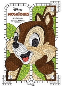 Jean-Luc Guérin - Mosaïques Disney - 60 coloriages anti-stress.