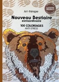 Jean-Luc Guérin - Nouveau bestiaire extraordinaire - 100 coloriages anti-stress.