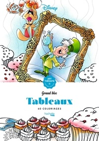Jean-Luc Guérin et  Disney - Tableaux - 60 coloriages anti-stress.