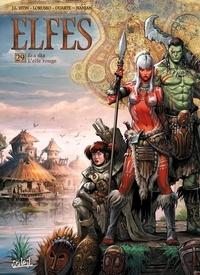 Jean-Luc Istin et Giovanni Lorusso - Terres d'Arran : Elfes Tome 29 : Lea s'aa l'elfe rouge.