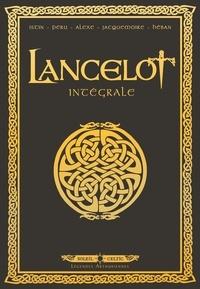 Jean-Luc Istin et Olivier Peru - Lancelot Intégrale : Tome 1, Claudas des terres désertes ; Tome 2, Iweret ; Tome 3, Morgane ; Tome 4, Arthur.