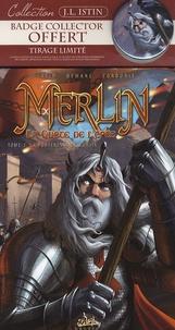 Jean-Luc Istin et Nicolas Demare - Merlin La quête de l'épée Tome 2 : La forteresse de Kunjir - Tirage limité avec badge collector offert.