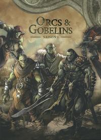 Jean-Luc Istin et Diogo Saïto - Orcs & Gobelins  : Coffret en 5 volumes - Tome 1, Turuk ; Tome 2, Myth ; Tome 3, Gri'im ; Tome 4, Sa'ar ; Tome 5, La Poisse.
