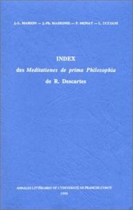 Index des meditationes de prima philosophia de René Descartes.pdf