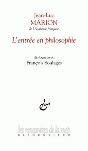 Jean-Luc Marion - L'entrée en philosophie.
