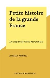 Jean-Luc Mathieu - Petite histoire de la grande France - Les origines de l'outre-mer français.