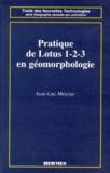 Jean-Luc Mercier - Pratique de Lotus 1-2-3 en géomorphologie.