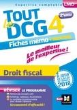 Jean-Luc Mondon et Jean-Yves Jomard - Tout le DCG 4 Droit fiscal.