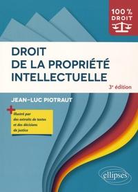 Jean-Luc Piotraut - Droit de la propriété intellectuelle.
