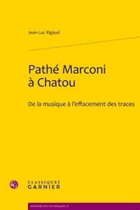 Deedr.fr Pathé Marconi à Chatou - De la musique à l'effacement des traces Image