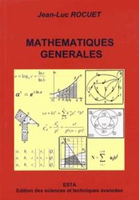 Deedr.fr Mathématiques générales - Eléments d'enseignement supérieur : filières sciences appliquées et sciences de l'ingénieur Image