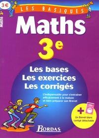 Jean-Luc Romet et Jeanine Borrel - Pack Maths/Français 3e.
