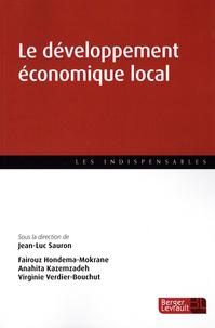 Jean-Luc Sauron et Fairouz Hondema-Mokrane - Le développement économique local.