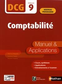 Google ebooks téléchargement gratuit ipad Comptabilité DCG 9  - Manuel & applications par Jean-Luc Siegwart, Laurence Cassio in French  9782091654669