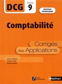 Jean-Luc Siegwart et Laurence Cassio - Comptabilité DCG 9 - Corrigés des applications.
