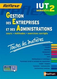 Jean-Luc Siegwart - Gestion des entreprises et des administrations IUT semestre 2 - Toutes les matières.