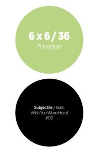 Jean-Luc Soret et Cyril Thomas - 6 x 6 / 36 - Paysage.