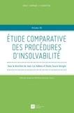 Jean-Luc Vallens et Giulio Cesare Giorgini - Etude comparative des procédures d'insolvabilité.