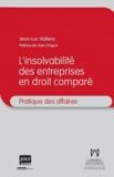 Jean-Luc Vallens - L'insovabilité des entreprises en droit comparé.