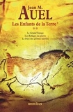 Jean M. Auel - Les Enfants de la Terre Tome 2 : Le Grand voyage ; Les Refuges de pierre ; Le Pays des grottes sacrées.