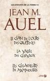 Jean M. Auel et Catherine Pageard - Les enfants de la terre - volume 1 - Tomes 1, 2 et 3.