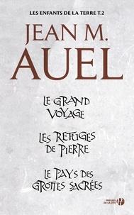 Jean M. Auel et Alexis Champon - Les enfants de la terre - volume 2 - Tomes 4, 5 et 6.