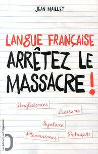 Livres électroniques gratuits Kindle: Langue française : arrêtez le massacre ! ePub (French Edition) 9782360753239