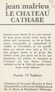 Jean Malrieu - Le château cathare.