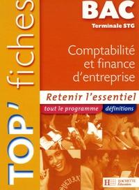 Jean-Marc Alran et Stéphane Le Gars - Top'Fiches Bac Tle STG Comptabilité et finance d'entreprise.