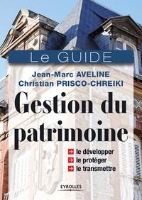 Jean-Marc Aveline et Christian Prisco-Chreiki - Gestion du patrimoine.